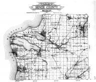 Benzie County Outline Map, Benzie County 1915 Microfilm