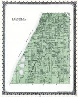 Lincoln Township, Berrien County 1887