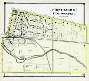Coldwater - Ward 1, Branch County 1872