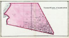Coldwater - Ward 3, Branch County 1872