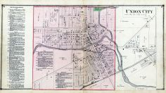Union City, Branch County 1872