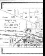 Albion - First and Second Wards - Left, Calhoun County 1894