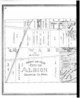 Albion - Third and Fourth Wards - Left, Calhoun County 1894