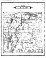 Albion Township, Mill Pond, Calhoun County 1894