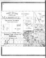 Marshall - First and Second Wards - Left, Calhoun County 1894