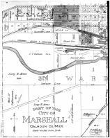 Marshall - Third and Fourth Wards - Left, Calhoun County 1894
