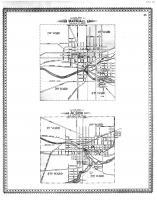Marshall City Outline Map, Albion City Outline Map, Calhoun County 1894