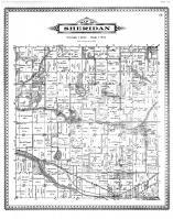 Sheridan Township, Halls lake, Albion City, Calhoun County 1894