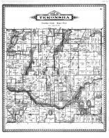 Tekonsha Township, Warner Lake, Calhoun County 1894