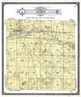 Homer Township, Whitcome Lake, Grover Sta., Kalamazoo River, Calhoun County 1916