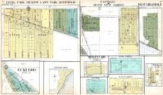 Level Park, Meadow Lawn Park, Robinwood, Eastdale, Grand View Garden, West Urbandale, Eckford, Kistler's Grove, Calhoun County 1916