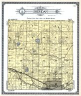 Sheridan Township, Albion City, Winnipeg Lake, Hall's Lake, Kalamazoo River, Wallcott Lake, Calhoun County 1916