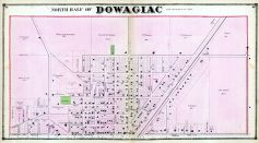 Dowagiac - North, Cass County 1872