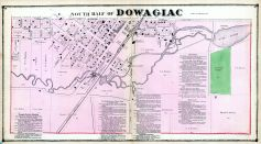 Dowagiac - South, Cass County 1872