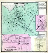 Edwardsburg, Jamestown, Sumnerville, Charleston, Cass County 1872