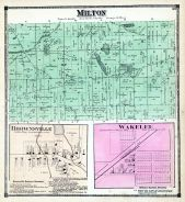 Milton, Brownsville, Wakelee, Cass County 1872
