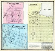 Williamsville, Lagrange, Christiann, Cass County 1872