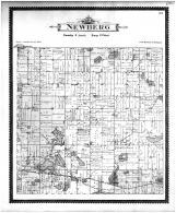 Newberg Township, Lilly Lake, Jones, Corey, Wakelee, Cass County 1896