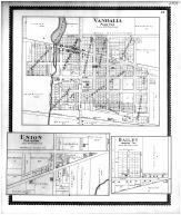 Vandalia, Union, Dailey, Cass County 1896
