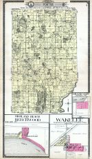 Porter Township, Highland Beach and Beechwood, Grand View, Wakelee, Cass County 1914