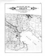 Grant Township, Black Lake, Mud Lake, Manning PO, Forest Home Resort, Cheboygan County 1902