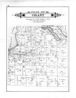 Grant Township, Mullet Lake, Long Lake, Cheboygan County 1902