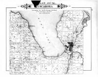 Tuscarora Township, Indian River, Mullet Lake, Cheboygan County 1902