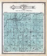 De Witt Township, Gunnisonville, Glass River, Clinton County 1915