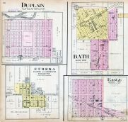Duplain, Eureka, Bath, Eagle, Clinton County 1915