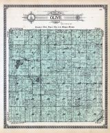 Olive Township, Muskrat Lake, Alward Lake, Holdens Creek, Clinton County 1915