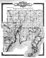 Delta County Index Map, Delta County 1913