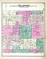 Clayton Township, Genesee County 1873