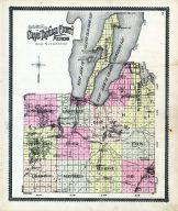 Outline Map, Grand Traverse County 1908