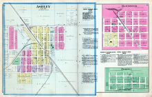 Ashley, Bannister, Pompeii, Gratiot County 1889