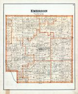Emerson Township, Gratiot County 1889