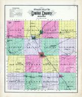 Outline Map, Gratiot County 1889