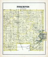 Pine River Township, Gratiot County 1889
