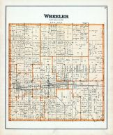 Wheeler Township, Gratiot County 1889