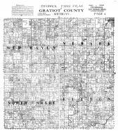 Chadwick Farm Atlas, Gratiot County, New Haven, Newark, North Shade, Fulton, Gratiot County 1914