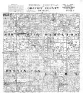 Chadwick Farm Atlas, Gratiot County, North Star, Hamilton, washington, Elba, Gratiot County 1914