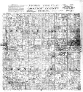 Chadwick Farm Atlas, Gratiot County, Seville, Pine Rivers, Sumner, Arcada, Gratiot County 1914