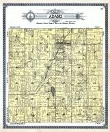 Adams Township, Hillsdale County 1916 Published by Ogle