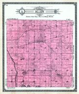 Allen Township, Hillsdale County 1916 Published by Ogle