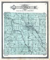 Litchfield Township, Hillsdale County 1916 Published by Ogle