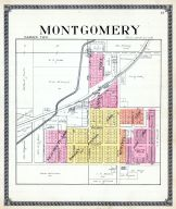 Montgomery, Hillsdale County 1916 Published by Ogle