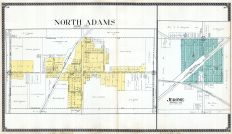 North Adams, Jerome, Hillsdale County 1916 Published by Ogle