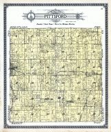 Pittsford Township, Hillsdale County 1916 Published by Ogle