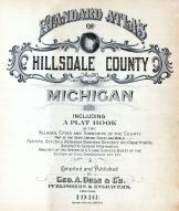 Hillsdale County 1916 Published by Ogle