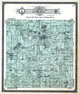 Hillsdale County Michigan Map.Hillsdale County 1916 Published By Standard Map Company Michigan