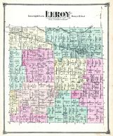 Leroy Township, Webberville P.O., Phelpstown, Ingham County 1874 with Lansing